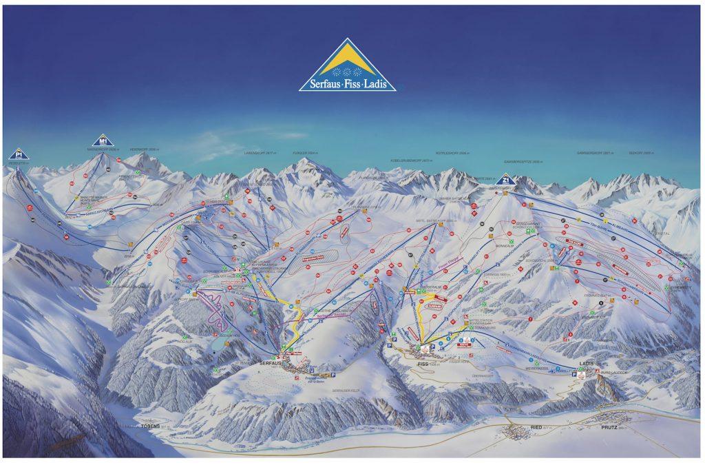 serfaus skigebied